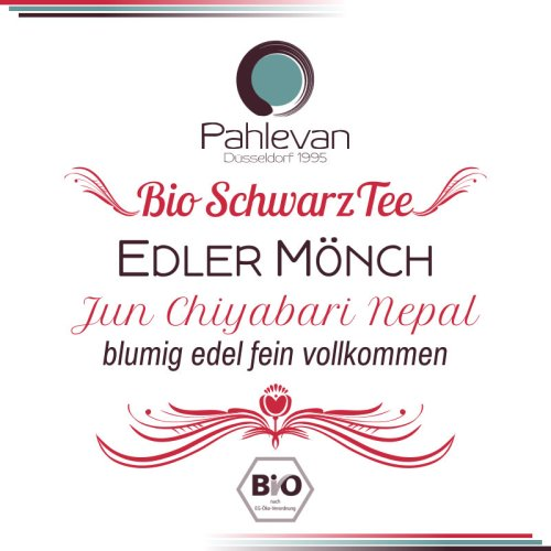 Bio Schwarzer Tee Nepal Edler Mönch | blumig edel fein vollkommen von Tee Pahlevan