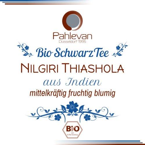 Bio Schwarzer Tee Nilgiri Thiashola | mittelkräftig fruchtig blumig von Tee Pahlevan