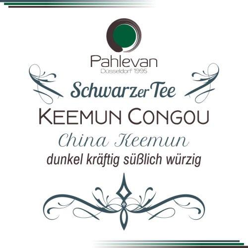 Schwarzer Tee China Keemun Congou   dunkelkräftig süßlich würzig von Tee Pahlevan