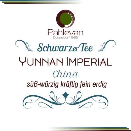 Schwarzer Tee China Yunnan Imperial | süß würzig kräftig fein erdig von Tee Pahlevan