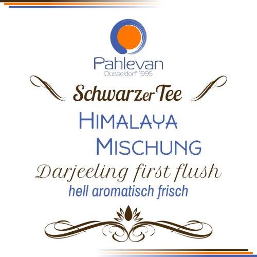 Schwarzer Tee Darjeeling Himalaya Mischung first flush | hell aromatisch frisch von Tee Pahlevan