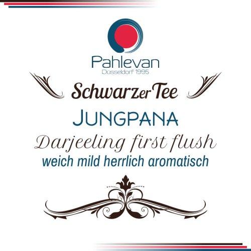 Schwarzer Tee Darjeeling Jungpana first flush | weich mild herrlich aromatisch Rarität von Tee Pahlevan