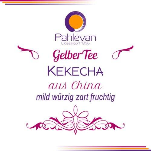 Gelber Tee Kekecha Tee | mild würzig zart fruchtig von Tee Pahlevan