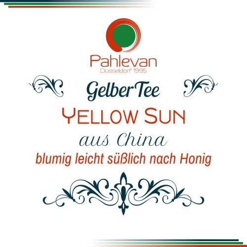 Gelber Tee Yellow Sun | blumig leicht süßlich nach Honig von Tee Pahlevan
