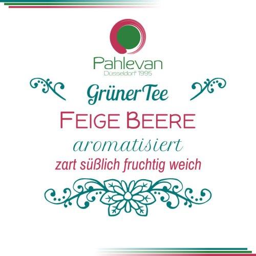 Grüner Tee Feige Beere | zart süßlichh fruchtig weich von Tee Pahlevan