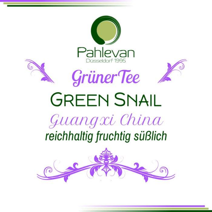 Grüner Tee Green Snail | China reichhaltig fruchtig süßlich von Tee Pahlevan