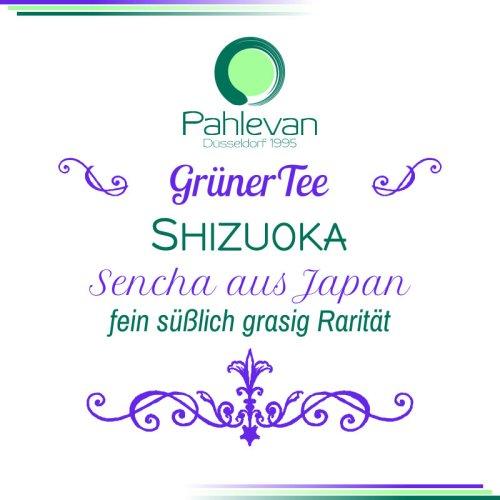 Grüner Tee Sencha Shizuoka | aus Japan fein süßlich grasig Rarität von Tee Pahlevan
