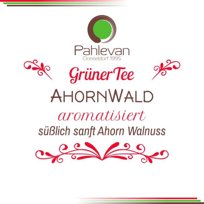 Grüner Tee Ahorn Wald   süßlich sanft Ahorn Walnuss von Tee Pahlevan