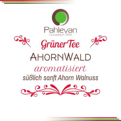 Grüner Tee Ahorn Wald | süßlich sanft Ahorn Walnuss von Tee Pahlevan