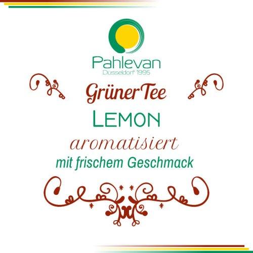 Grüner Tee Lemon   mit erfrischendem Geschmack von Zitrone von Tee Pahlevan