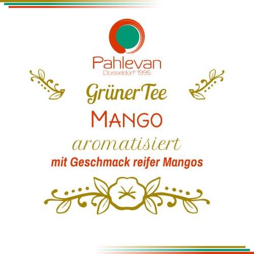 Grüner Tee Mango   mit Geschmack reifer Mangos von Tee Pahlevan