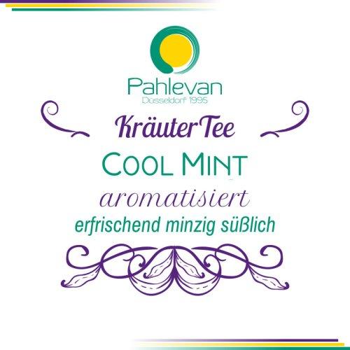 Kräutertee Cool Mint   erfrischend minzig süßlich von Tee Pahlevan