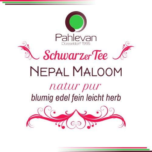 Schwarzer Tee Nepal Maloom | blumig edel fein leicht herb Tee Pahlevan