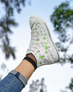 Nature Alpaca High Top Shoes
