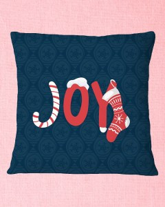Joy Square Pillowcase