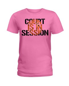 Basketball Court Ladies T-Shirt