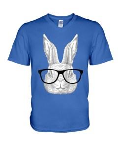 Hopster Bunny V-Neck T-Shirt