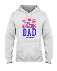 Personalized Gifts for Dad Hooded Sweatshirt