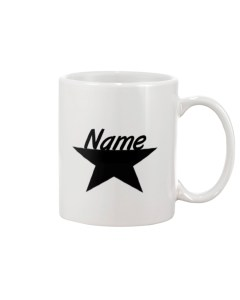 Personalized Star Gifts Color Changing Coffee Mug