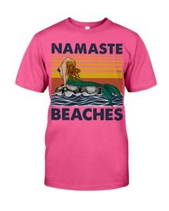Yoga namaste beach T-Shirt