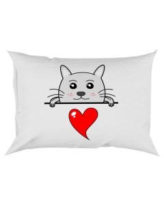 Cute Cat Pillowcase