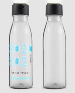 Personalizable LED Bottle Light Up Water Bottle
