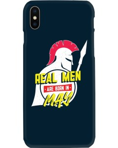Real Men are Born in May iPhone X Case