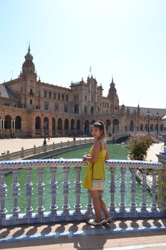 Plaza de España in Sevilla, Spain.