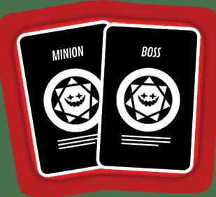 min-boss and minion