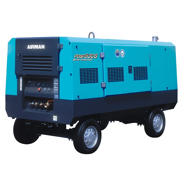 Portable-diesel-driven-Air-compressor-PDSF530-for-sale-in-muscat