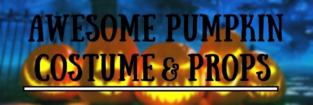 Awesome Pumpkin Costume and Props