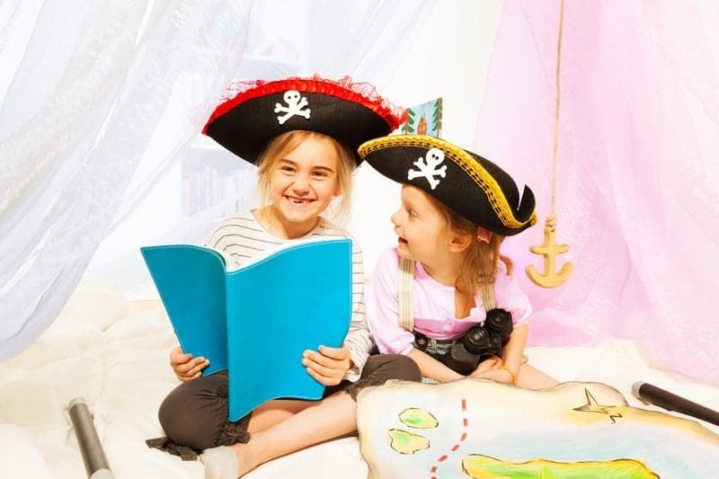 How to Create a Pirate Themed Reading Room
