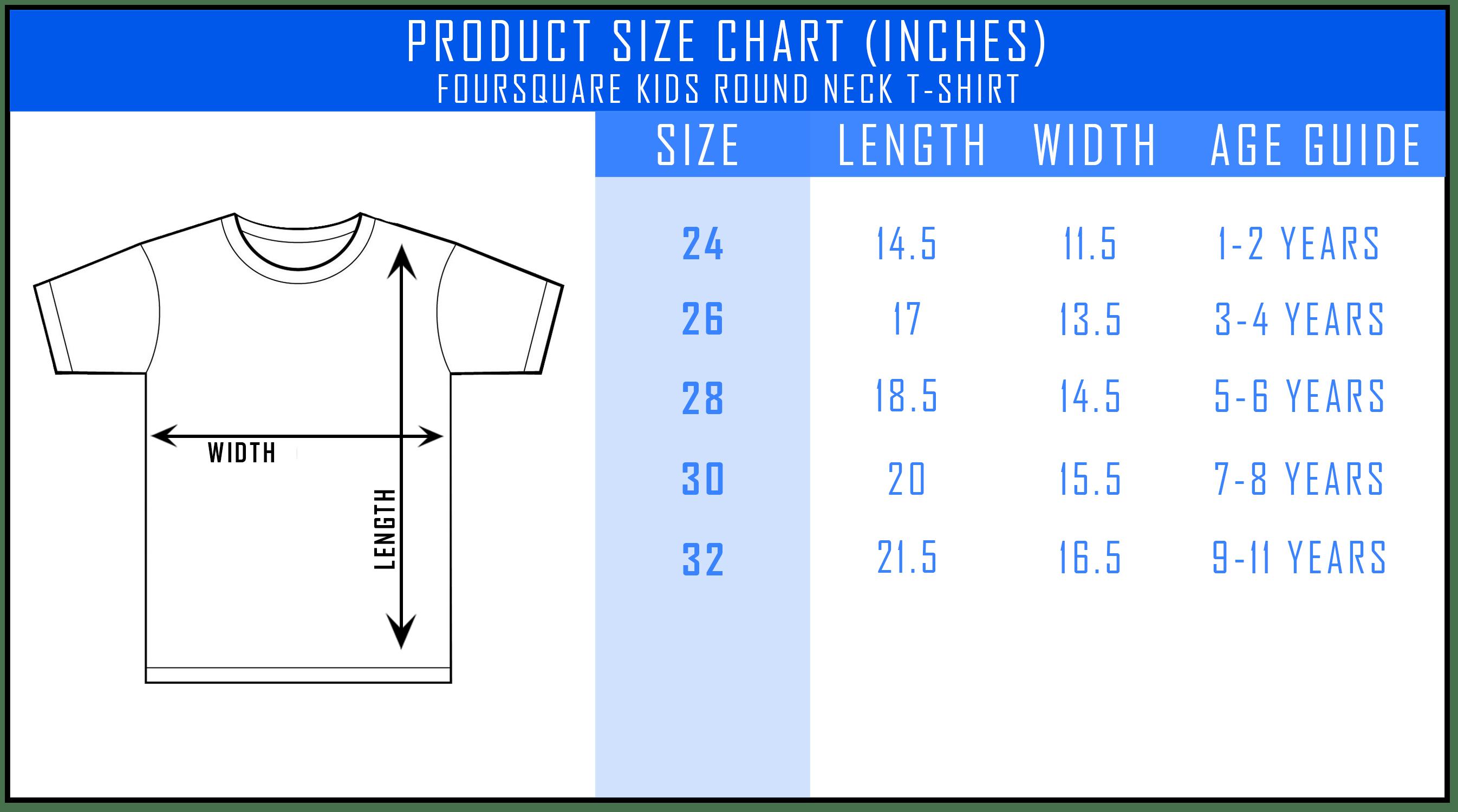 2b519351aba86a Customizable Foursquare Kids Round Neck T-Shirt [Unisex] - TeeMagix