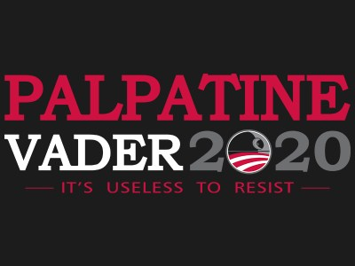 Palpatine-Vader t-shirt