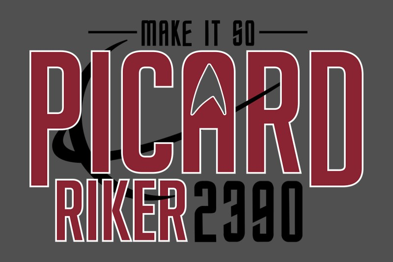 Elect Picard-Riker in 2390