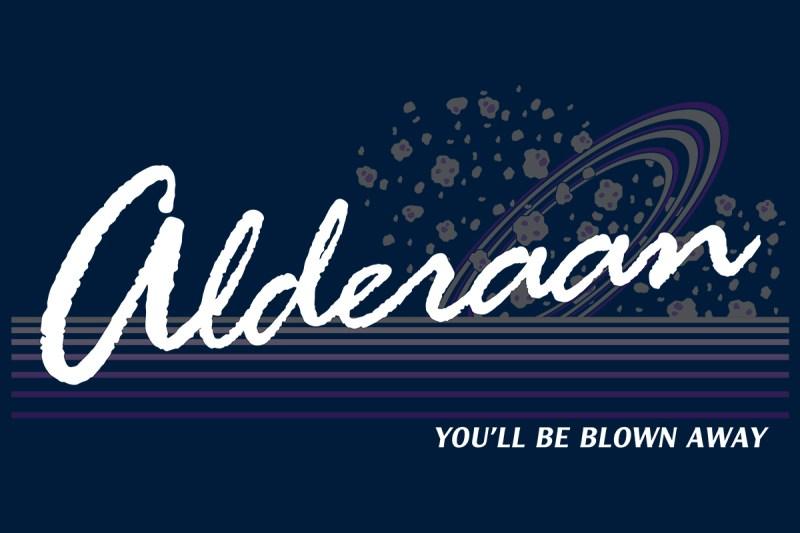 Alderaan t-shirt