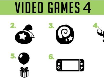 video game decals - set 4