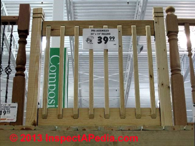 Deck Rail Baluster Spacing Deck Design And Ideas