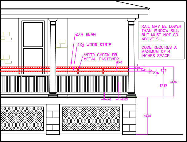 Deck Railing Height Code Ontario Deck Design And Ideas