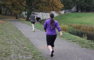 Elaine strides ahead