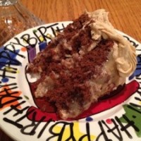 German Chocolate Cake with Caramel Buttercream