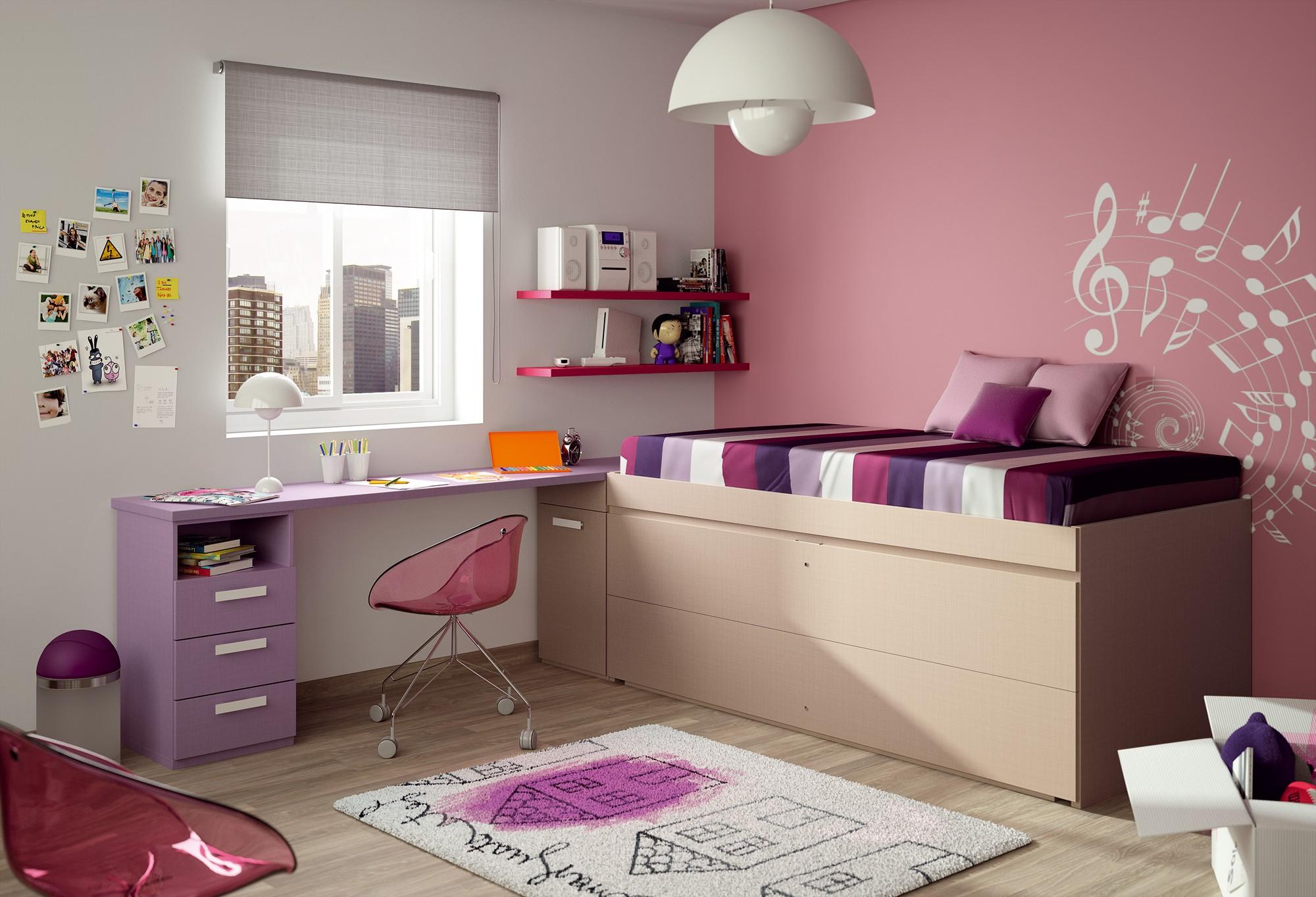 Girls Bedrooms With Bunk Beds Novocom Top