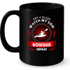 Eat Sleep Watch My Son Rowing Repeat Mug