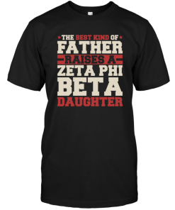 The Best Kind Of Father Raises A Zeta Phi Beta Daughter