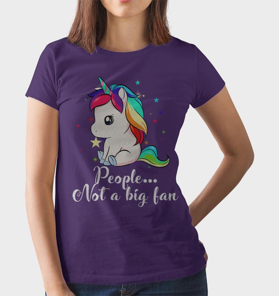 Unicorn People Not A Big Fan T-Shirt