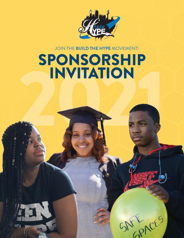teenHYPE sponsorship invitation