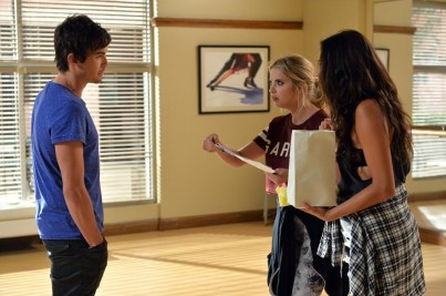 TYLER BLACKBURN, ASHLEY BENSON, SHAY MITCHELL