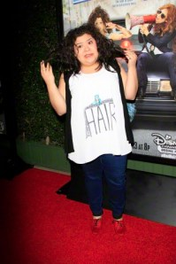 Celebrities at a screening of the Disney Channel Original Movie 'Bad Hair Day' in Burbank, CA