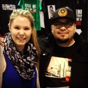 Kailyn Lowry Tattoo Convention 1