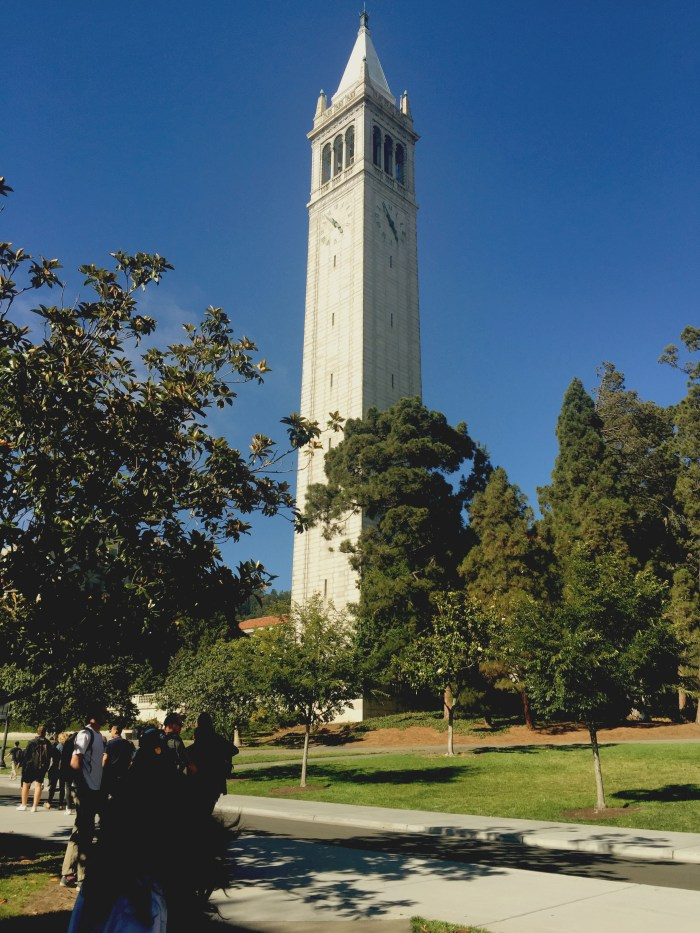 The Campanile on Cal campus-another historical landmark photo by Etta Liu